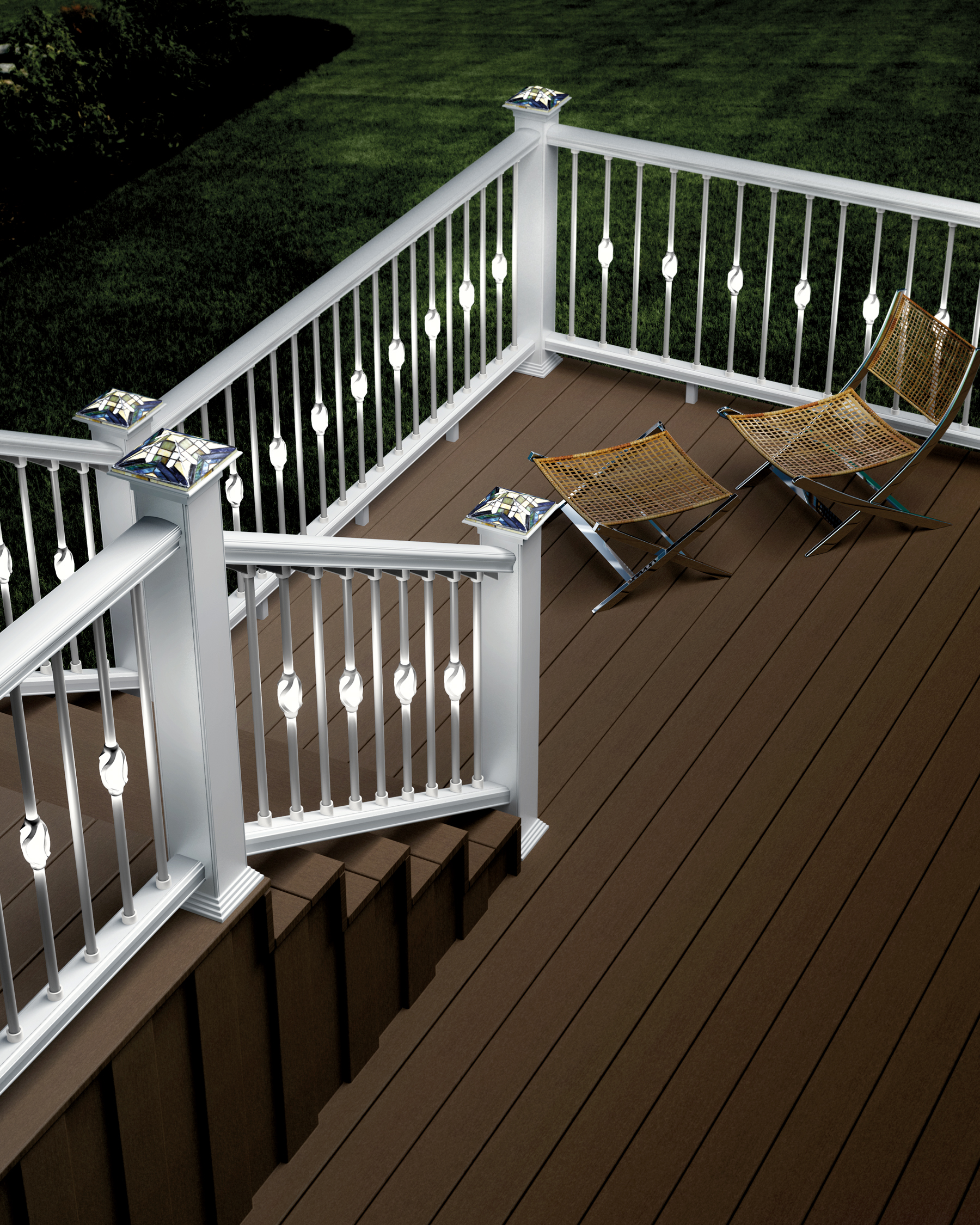 deck accent lighting. Deckorators Introduces New Low Voltage Accent Lighting For Decks And Outdoor Living Areas Deck T