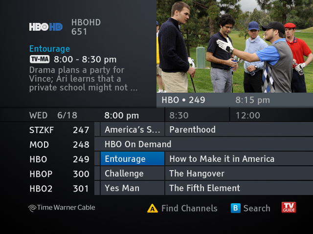 time warner cable completes guide upgrade for tv customers Time Warner Cable Remote Setup Time Warner Remote Set Back Boxes