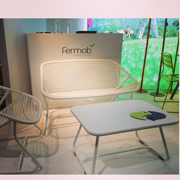 Fermob Unveils Sixties Bench In A New Color Cotton White