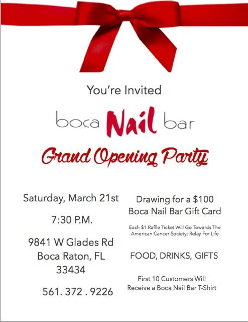Boca Nail Bar in West Boca celebrates grand opening and ...