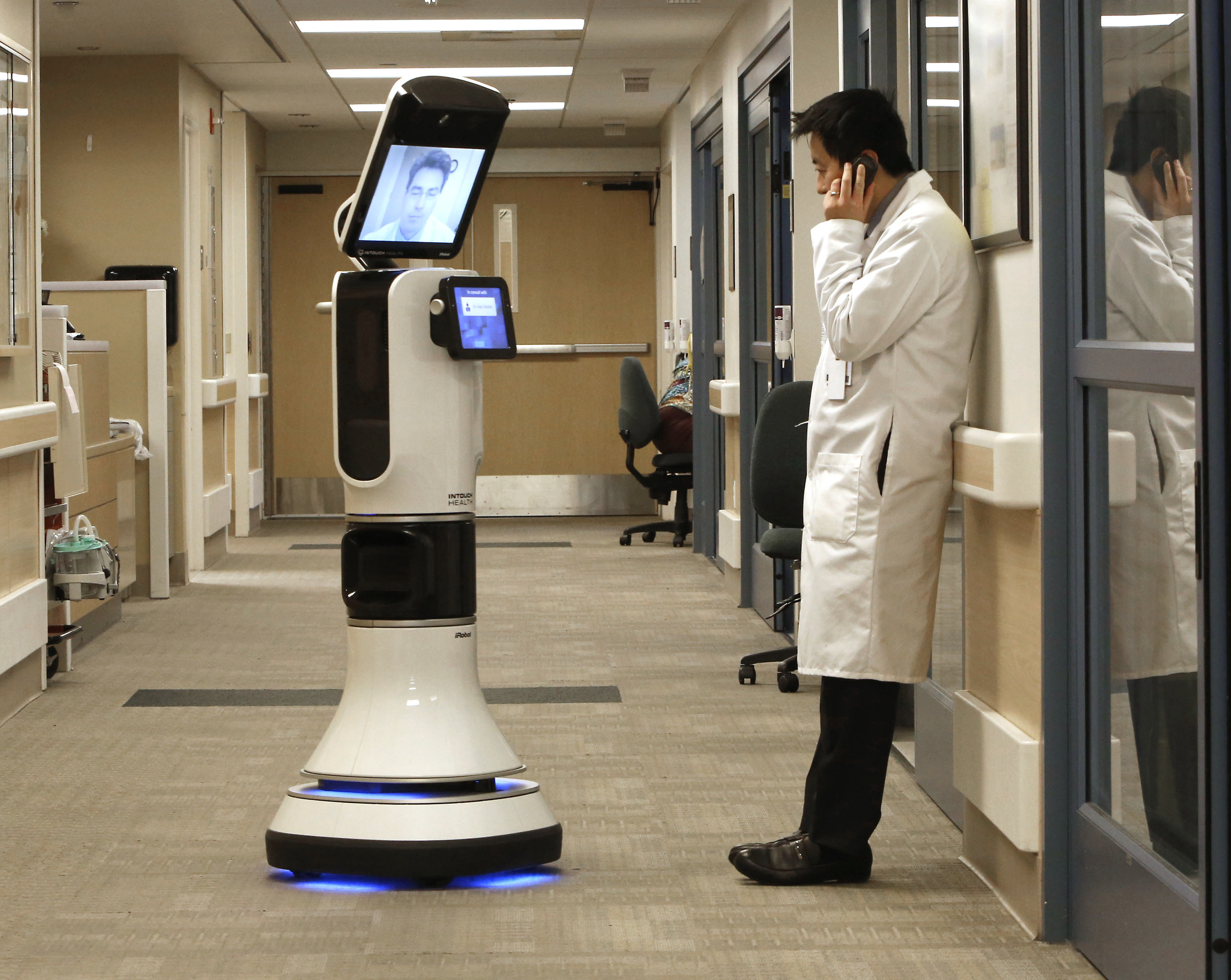 The First Robotic Doctor Announced By Cornerstone