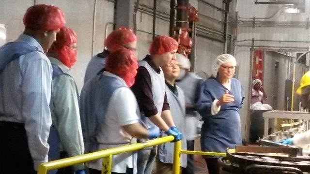 aft chairman local officials attend adventist blessing  atlantic natural foods facility
