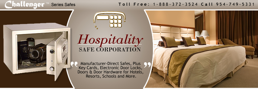 Hospitality Safe Lock Corp Manufactures A Variety Of Hotel Business And Residential Electronic Safes We Are The 1 Er In Room Guest To