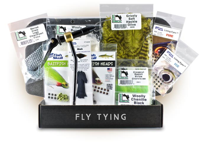 Postfly partners with flymen fishing co for new fly tying for Fly fishing subscription box
