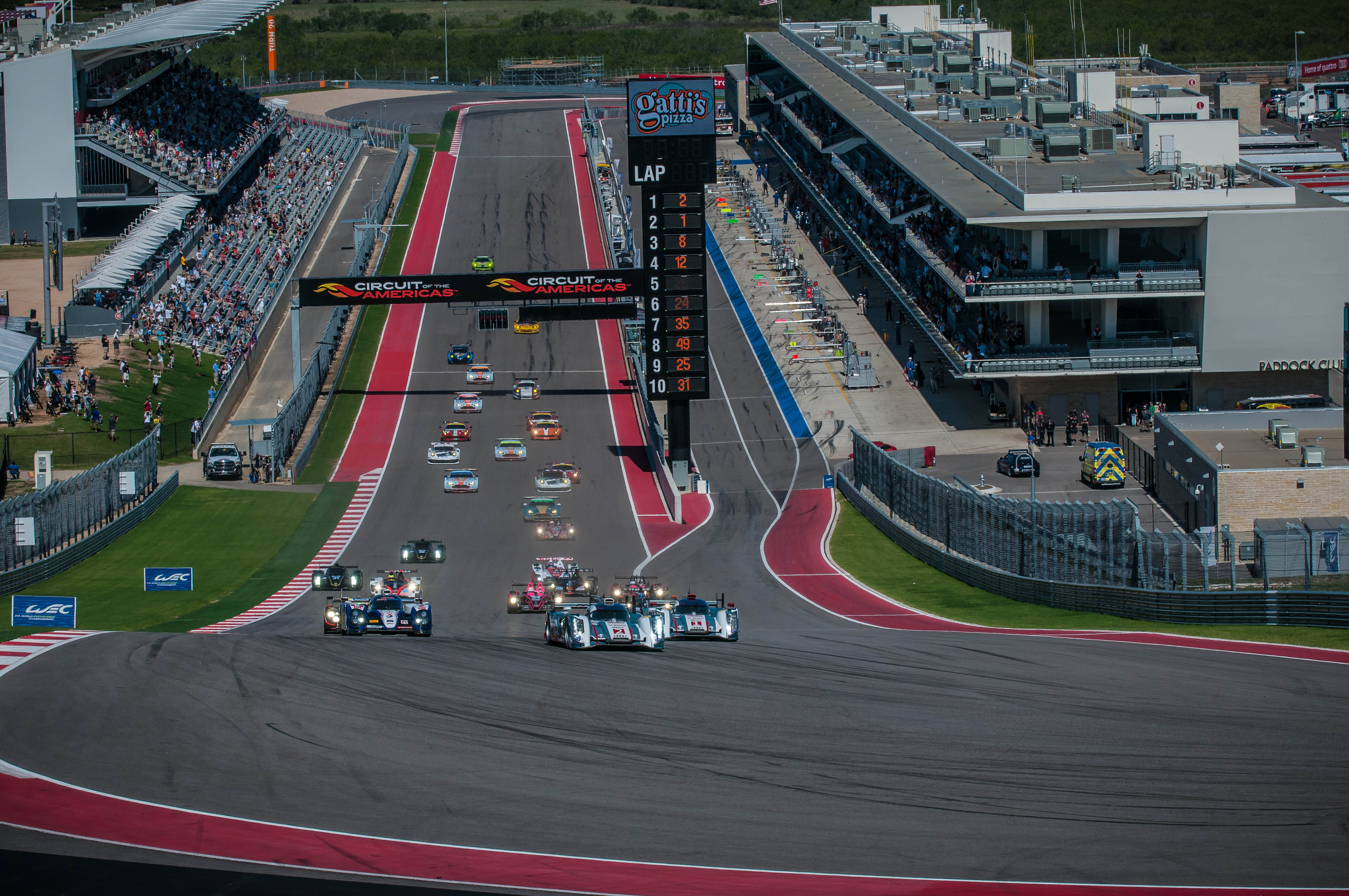 schedule released for lone star le mans at circuit of the. Black Bedroom Furniture Sets. Home Design Ideas