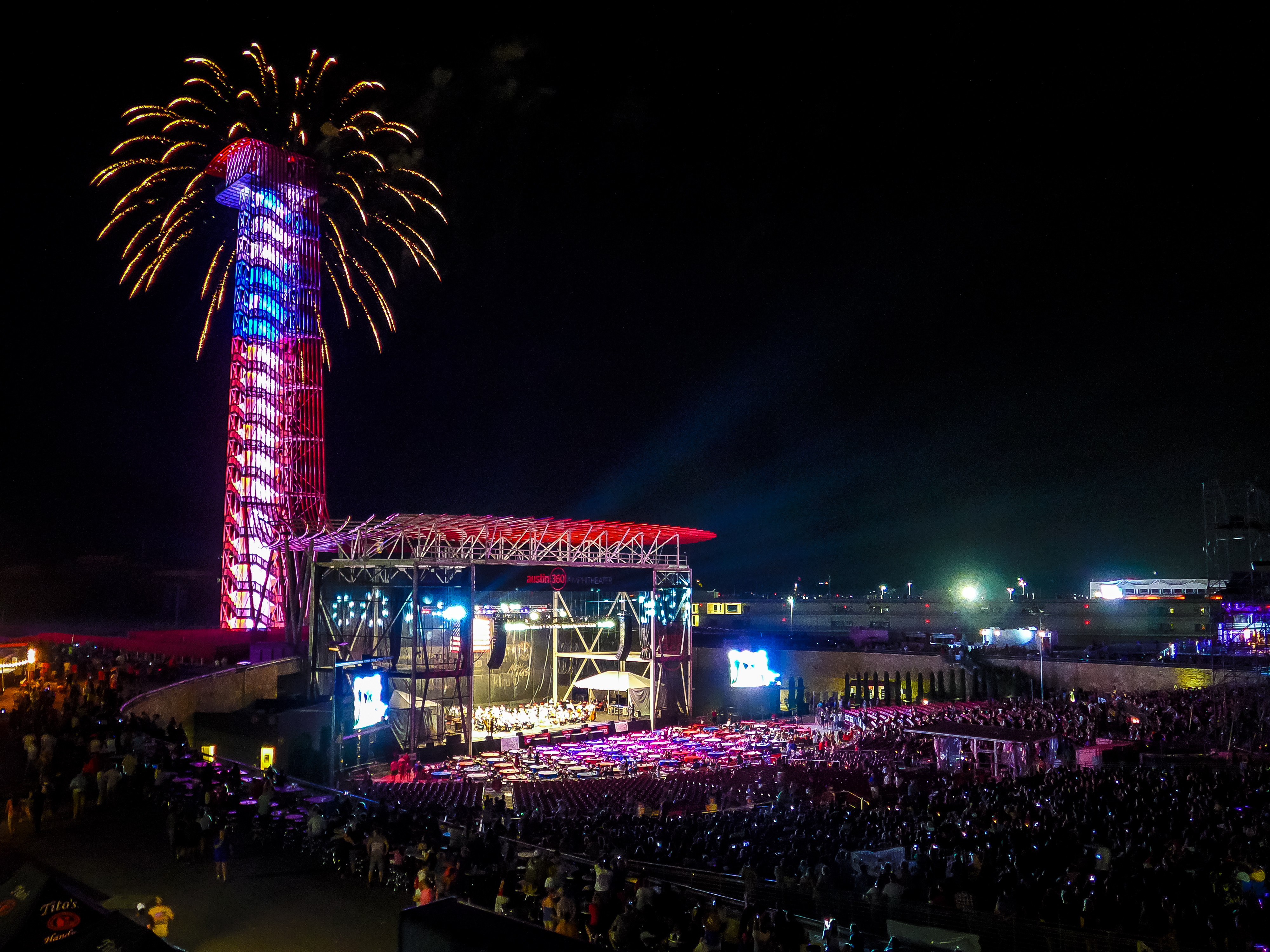 The Austin360 Amphitheater At Circuit Of The Americas Has