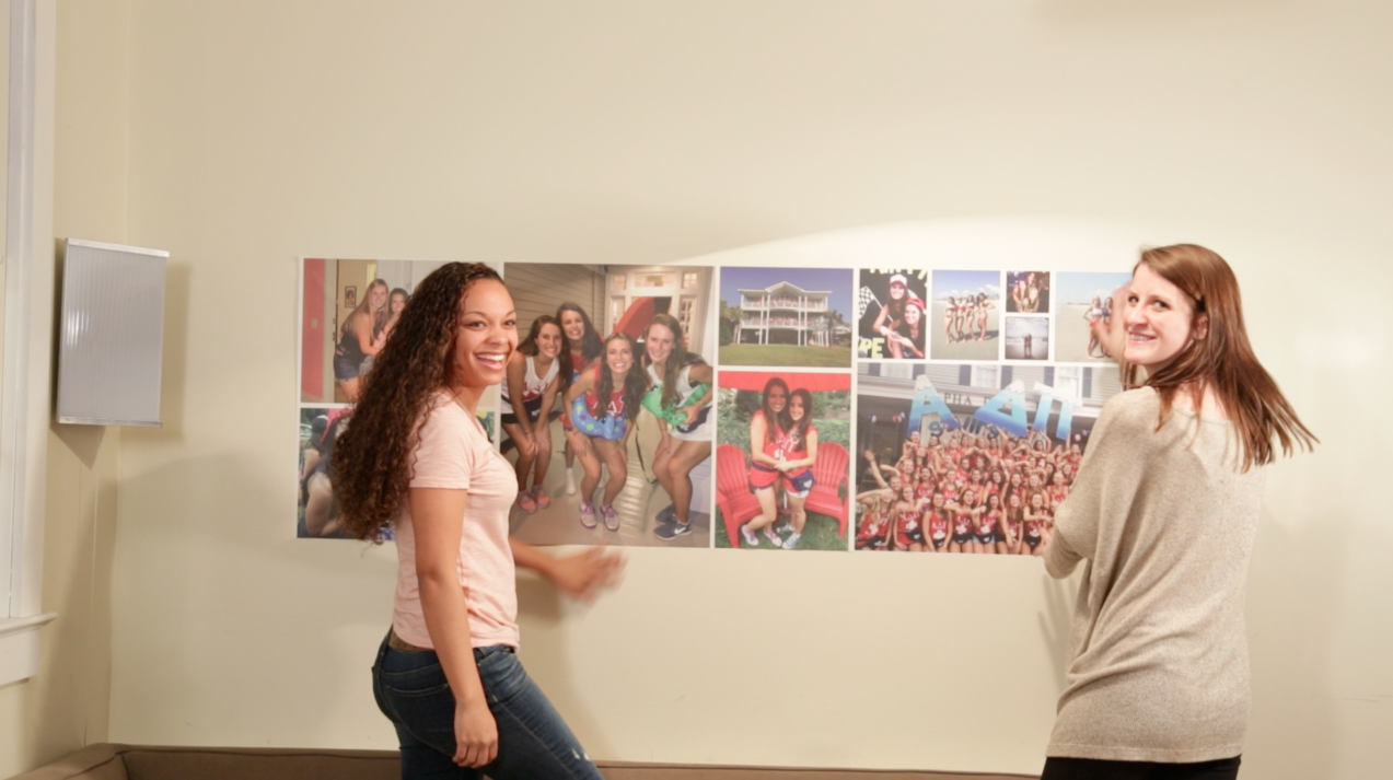 ... montages to 100 US college freshmen to fight homesickness: WeMontage