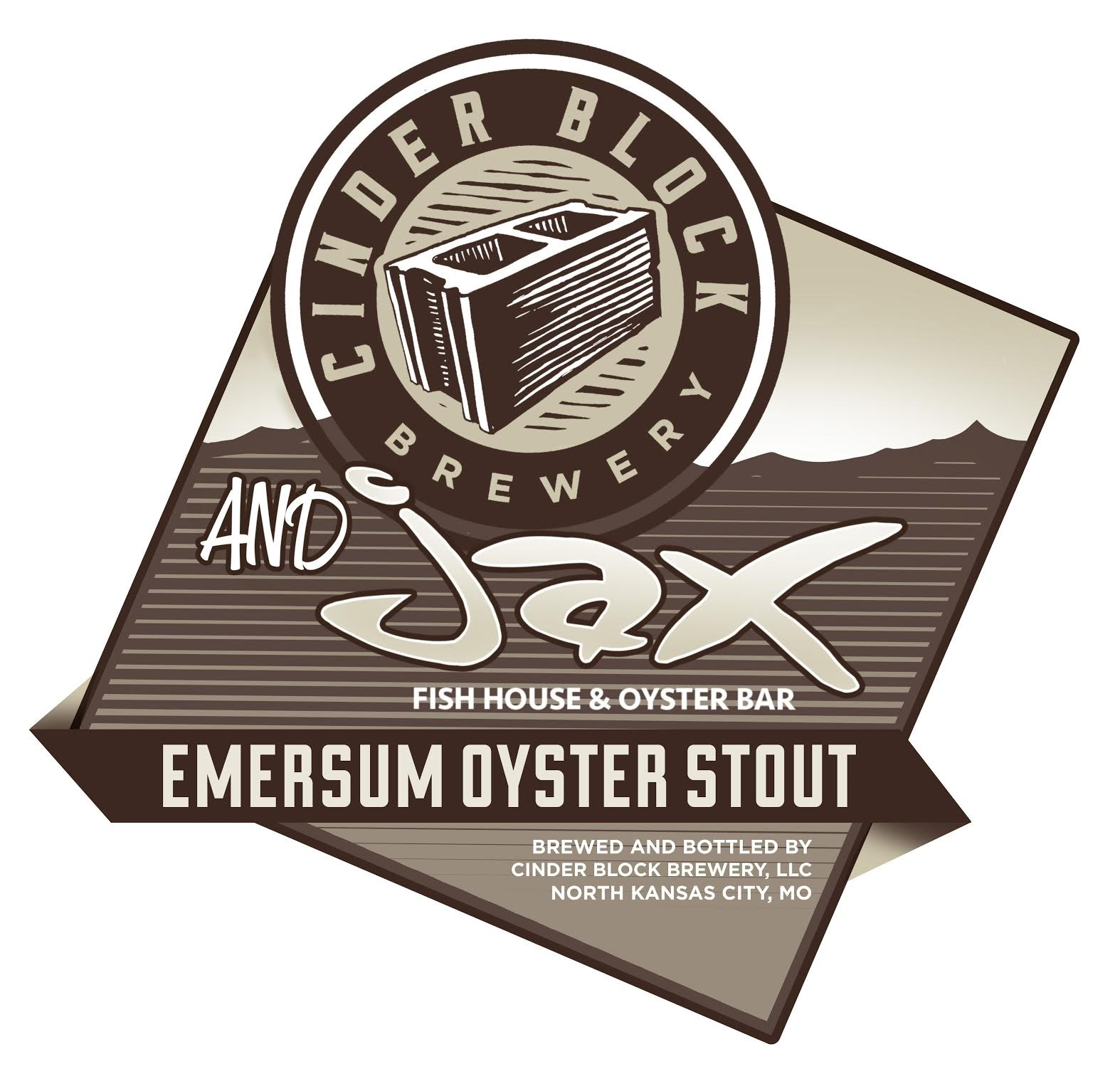 Jax fish house and cinder block brewery collaboration for Jax fish house kansas city