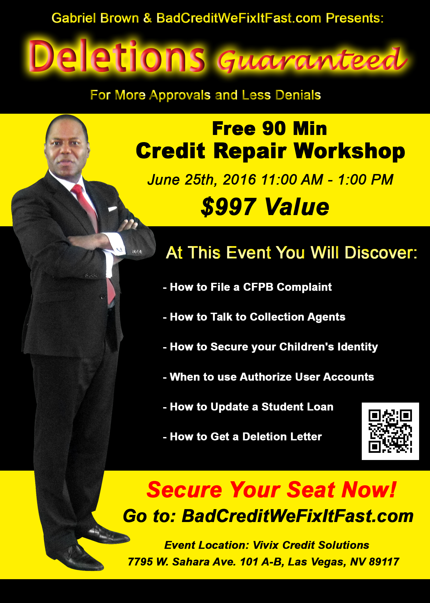 credit repair workshop 9 things to avoid in credit repair. Black Bedroom Furniture Sets. Home Design Ideas