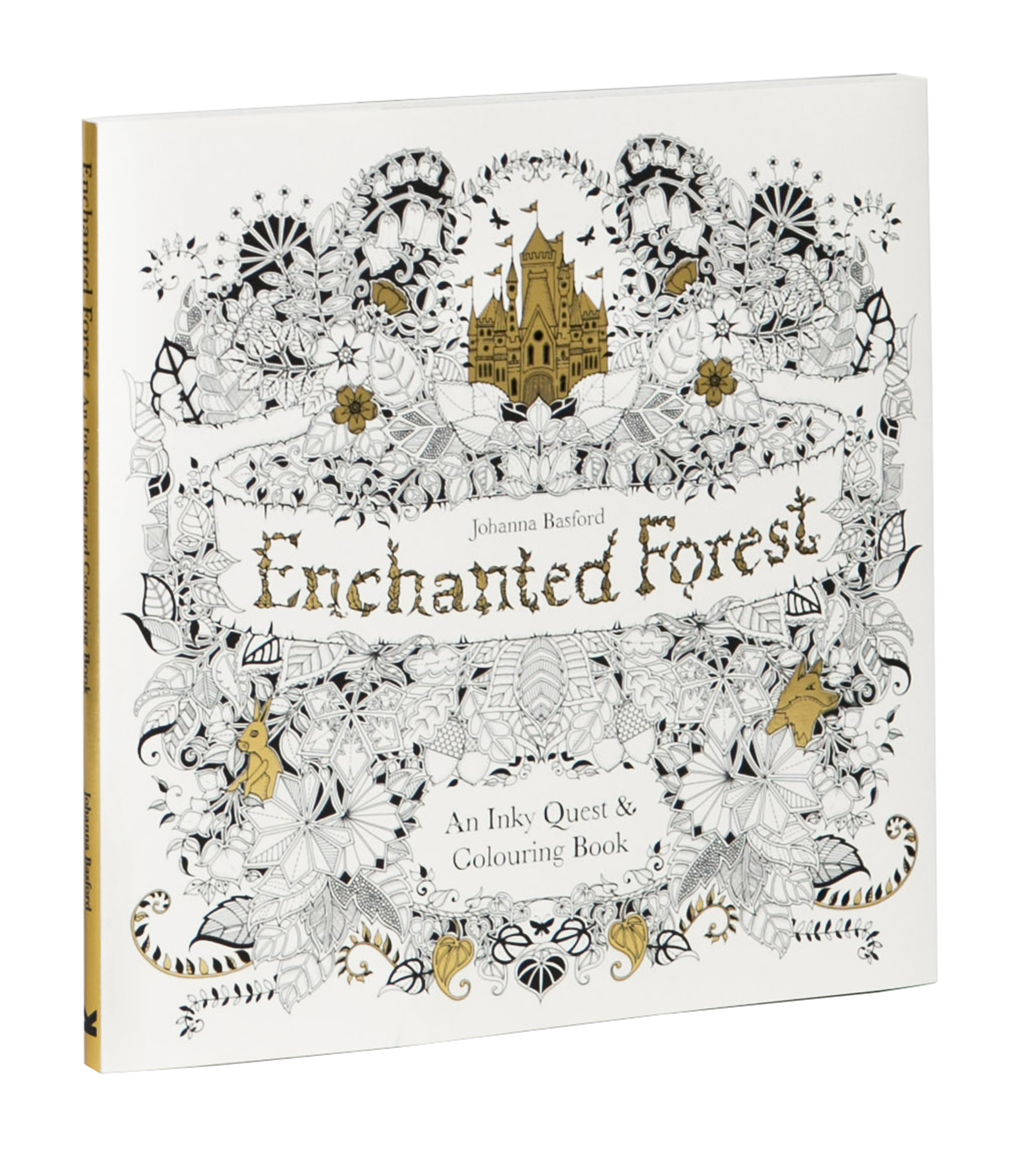 Enchanted Forest Is Illustrator Johanna Basfords Trending Colouring Book For