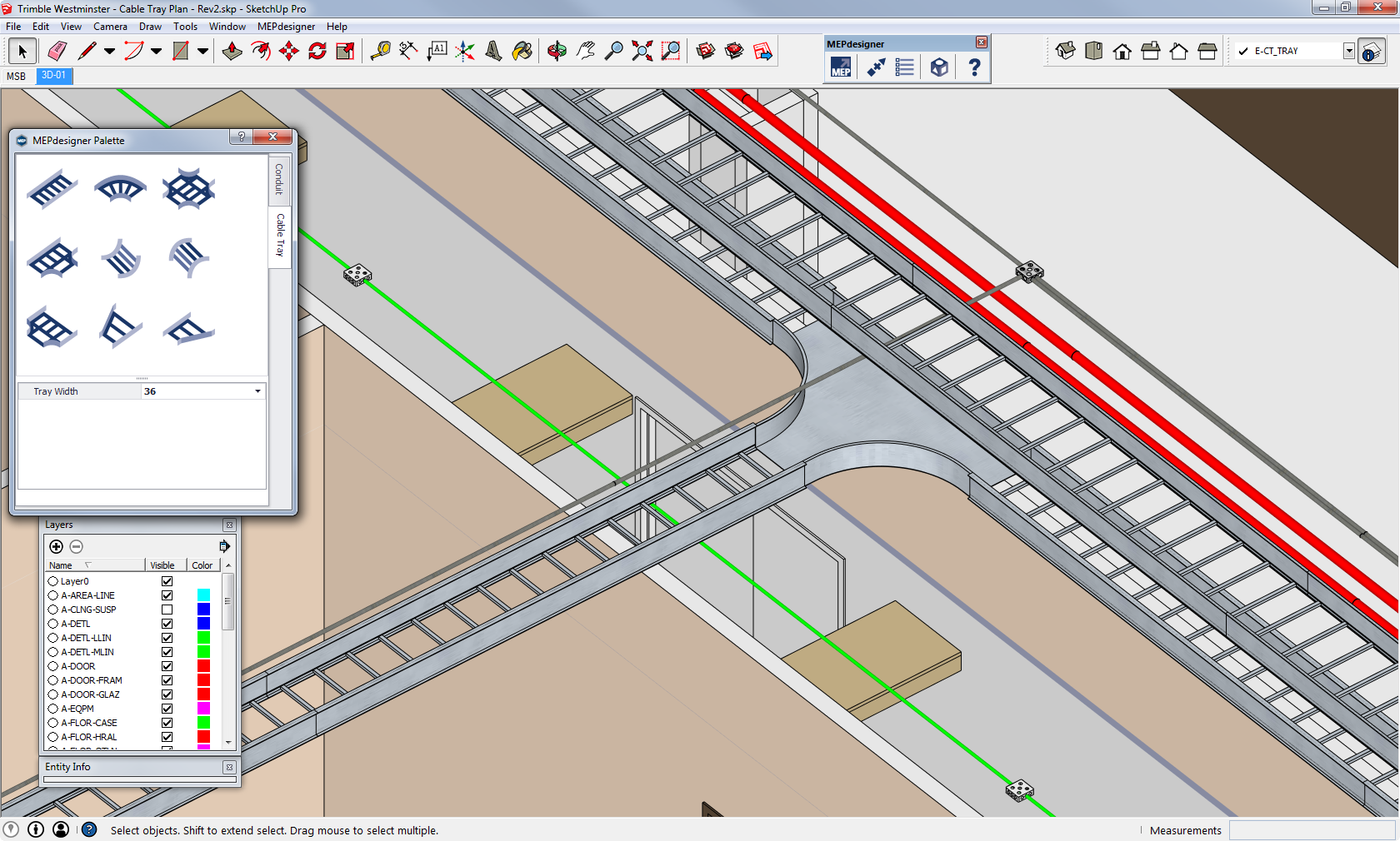 Trimble introduces mepdesigner for sketchup a new Google 3d software