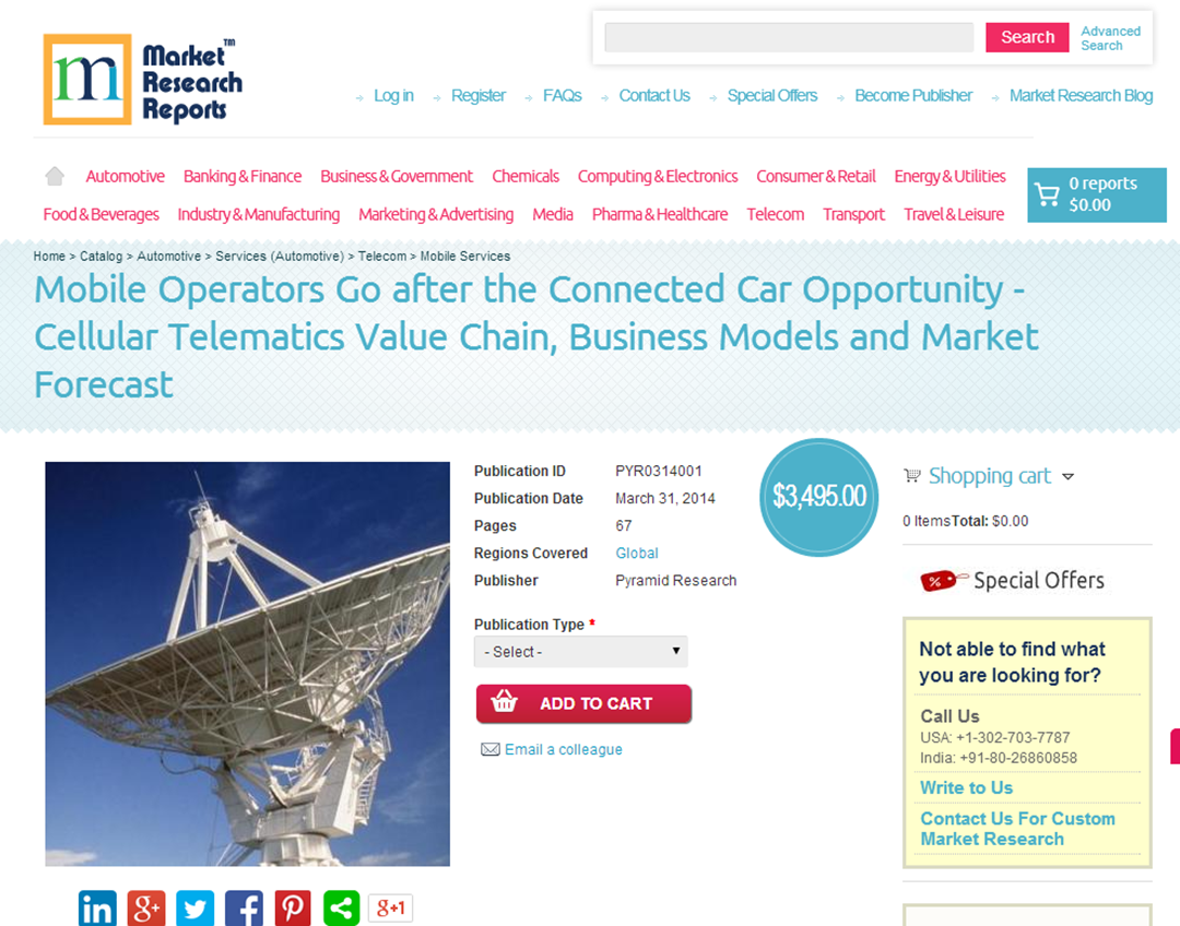 Marketresearchreports Com Mobile Operators Go After The Connected