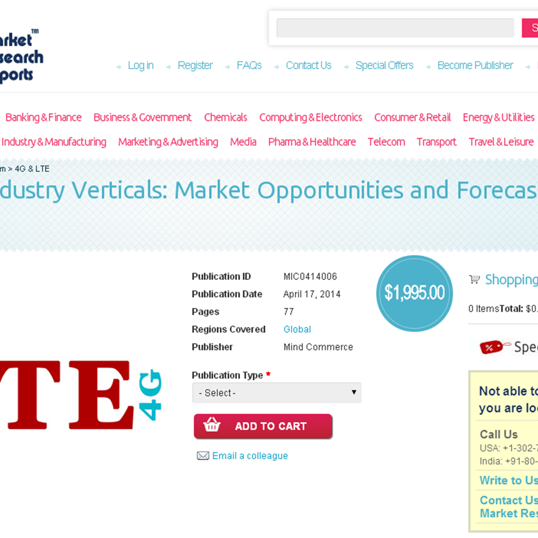 lte in industry verticals market opportunities Private lte & 5g network infrastructure a $5 billion opportunity, report estimates that the market  industry verticals  private lte & 5g network industry.