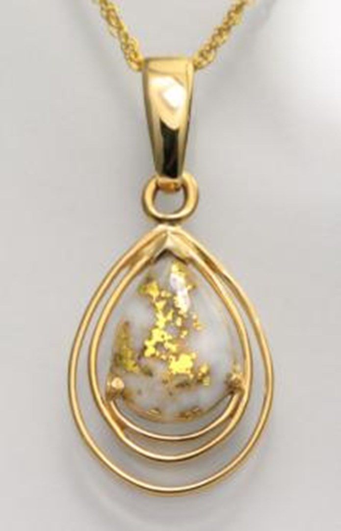 gold quartz a piece for every season alaska jewelry