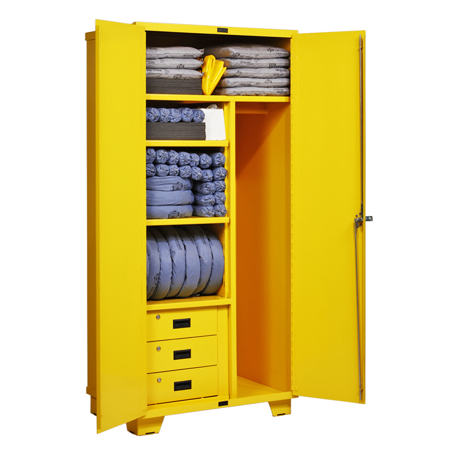 Pig 174 Spill Kit In A Cabinet New Pig Corporation
