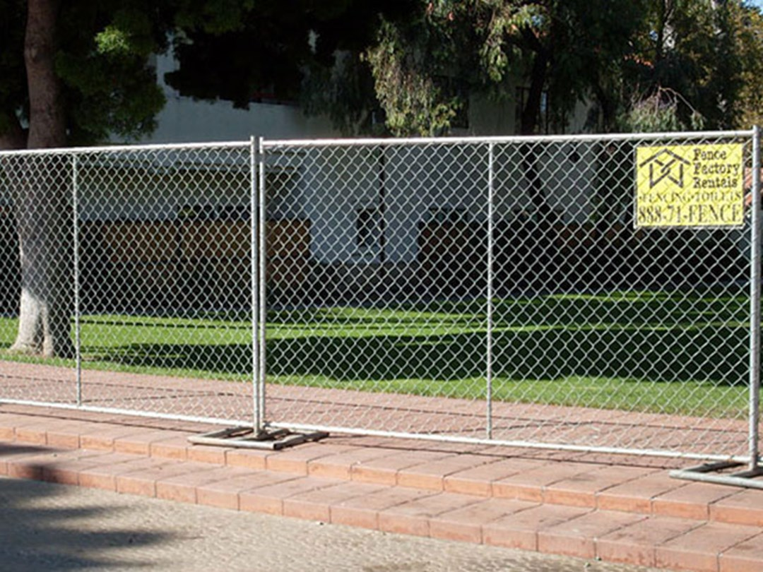 request a free quote for temporary fence with fence factory rentals