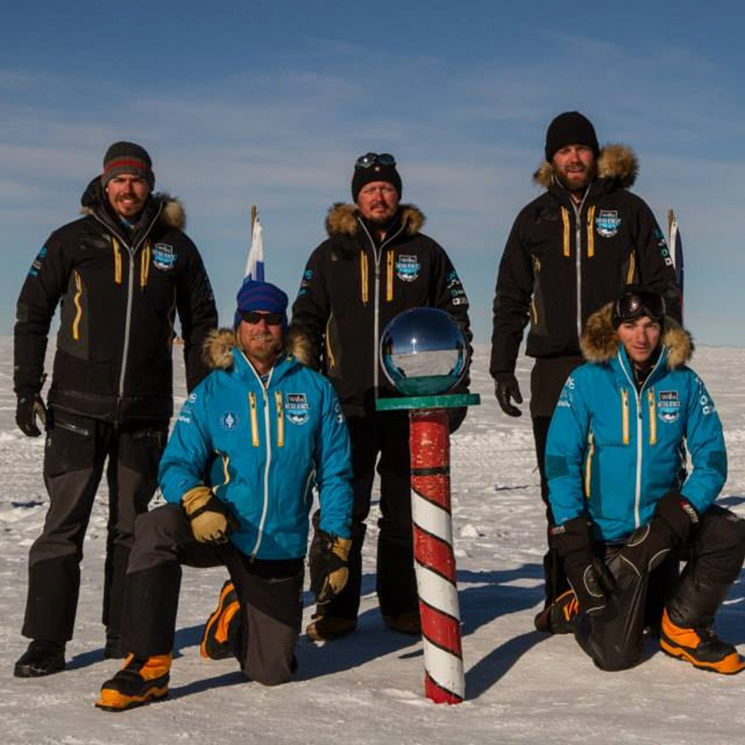Willis Resilience Expedition sets new Coast to South Pole Speed Record