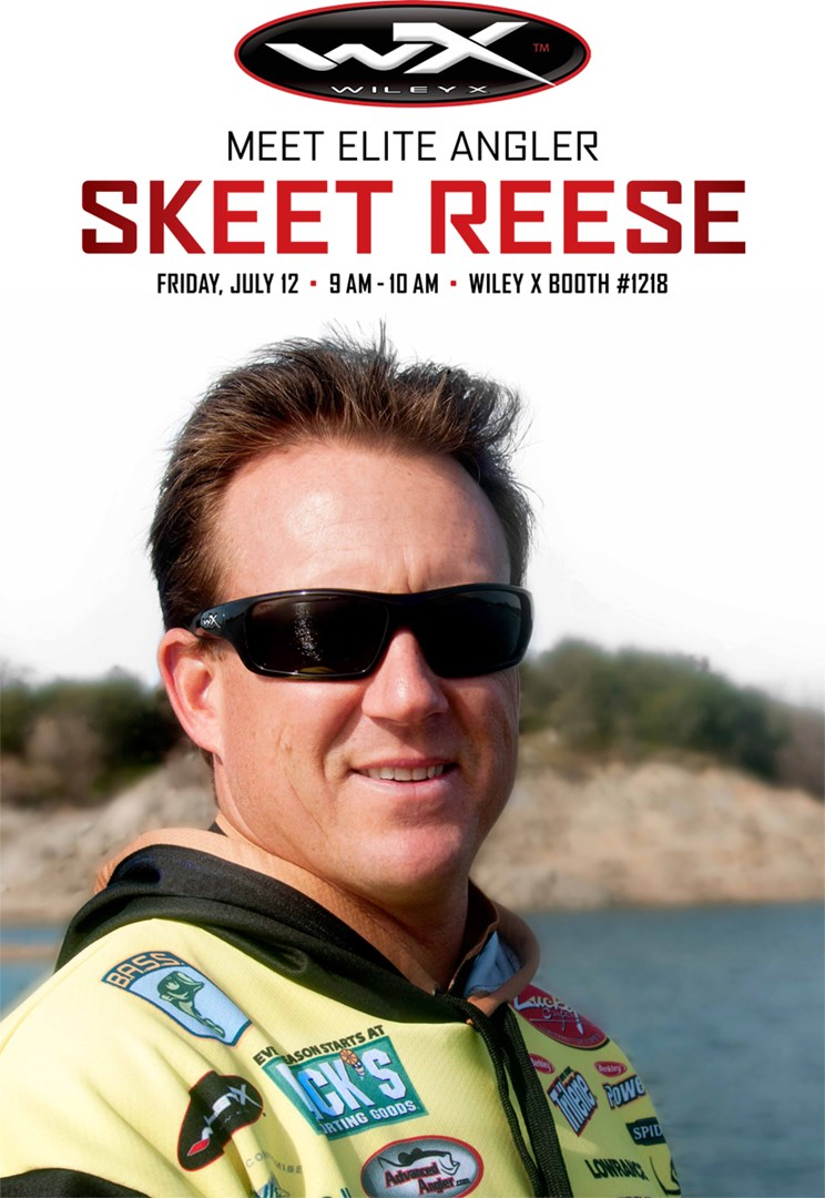 65d2701d05f1 TOP WILEY X® SPONSORED BASS PRO SKEET REESE TO MEET ANGLERS, SIGN  AUTOGRAPHS IN COMPANY'S ICAST BOOTH #1218