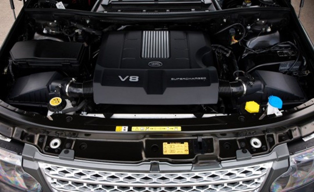 Range Rover Supercharged Engine Boosted Horsepower For