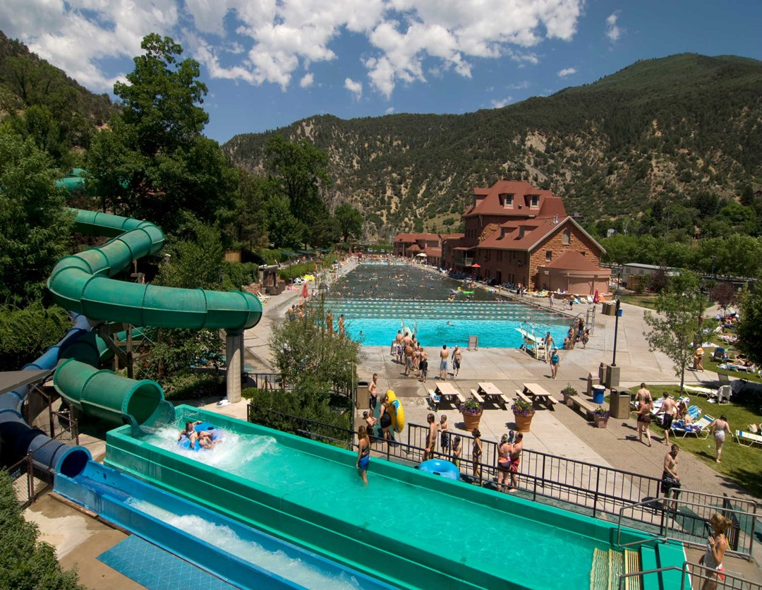 Glenwood Hot Springs Pool In A League Of Its Own