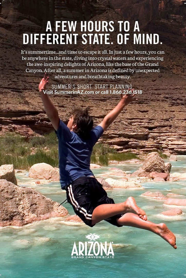 Arizona Office of Tourism Launches New Summer Fun Campaign