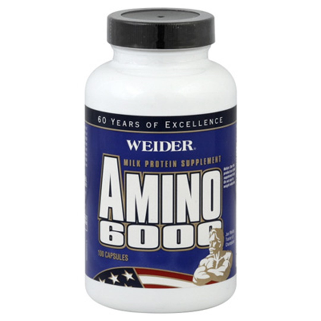 Weider Amino 6000 – Amino Energy for Bodybuilding