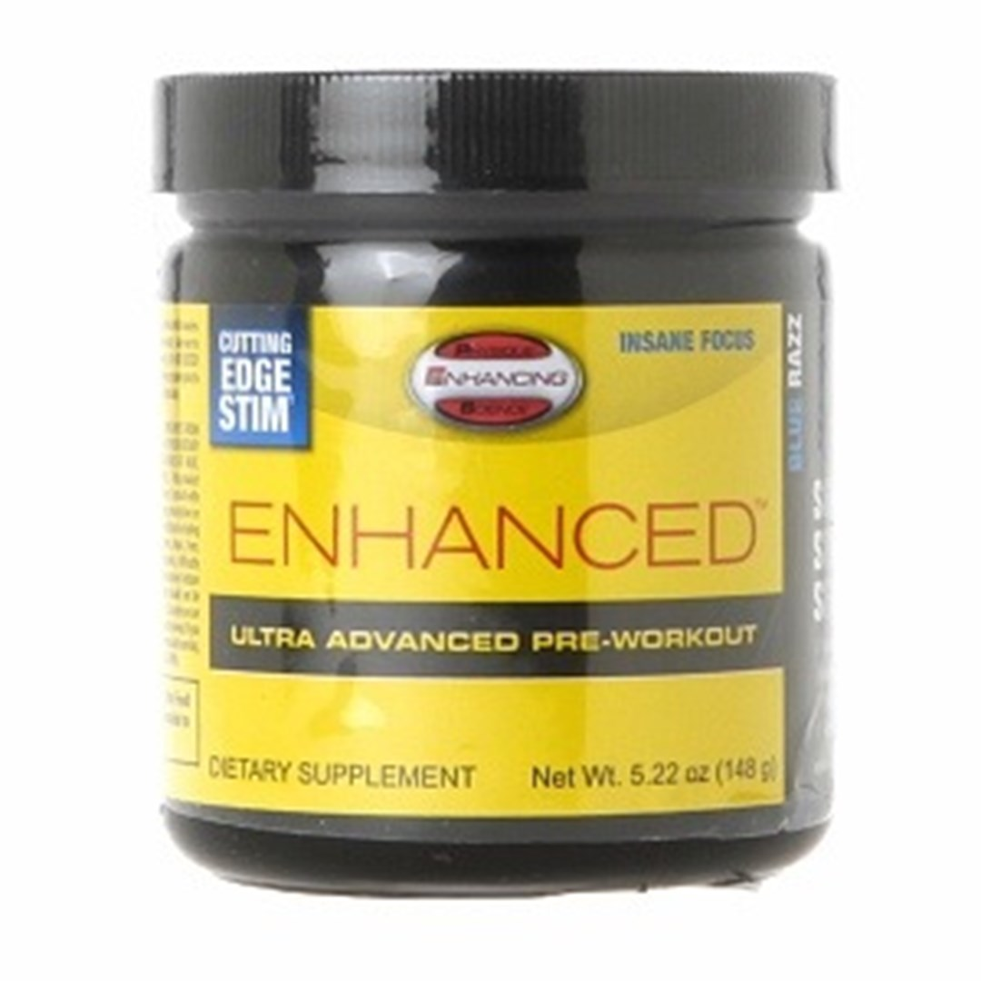 PES Enhanced Pre-workout e a leucina
