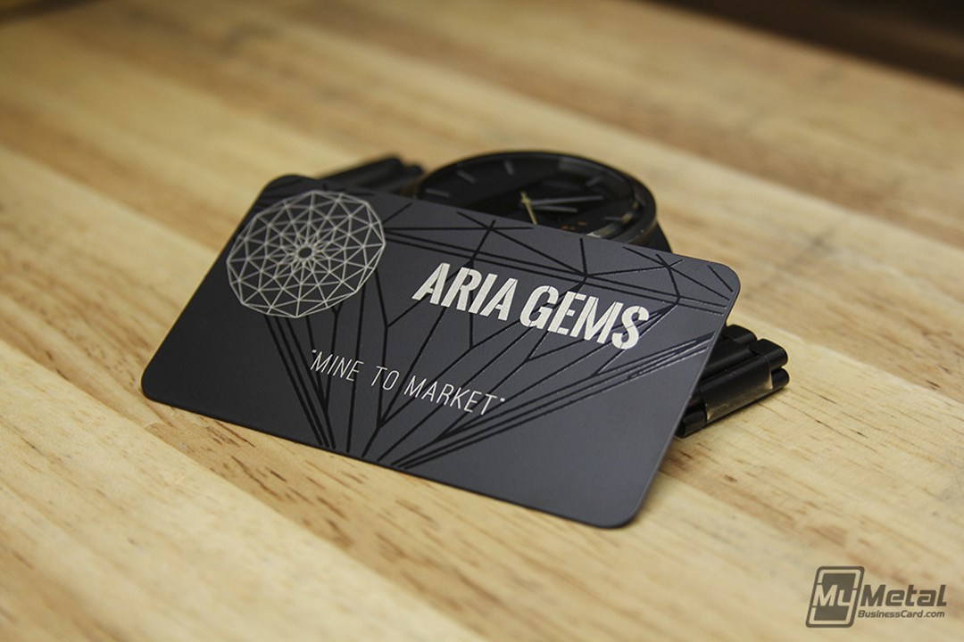 Innovative Metal Business Cards Give A Competitive Edge To ...