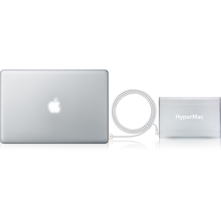 check out 9bb77 d7801 HyperMac - World's Exclusive Apple MacBook External Battery Pack ...