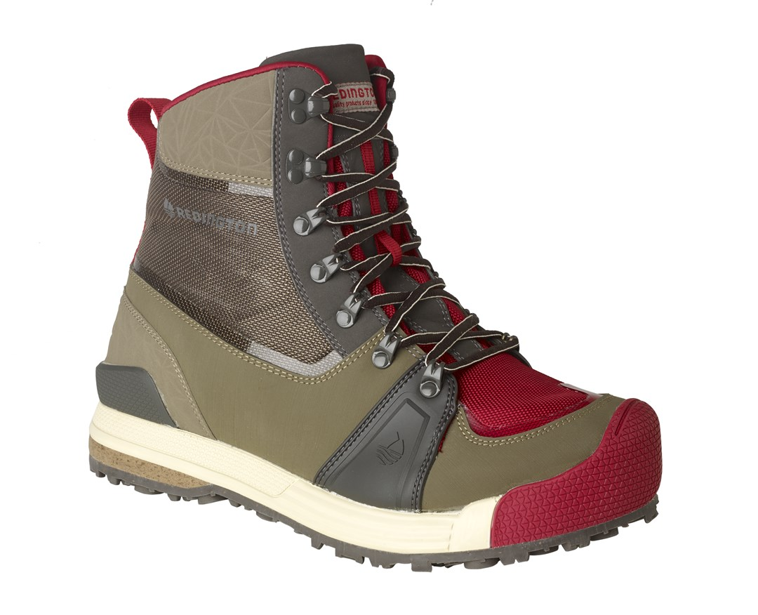 Redington redesigns wading boots with style and function for Fly fishing wading boots
