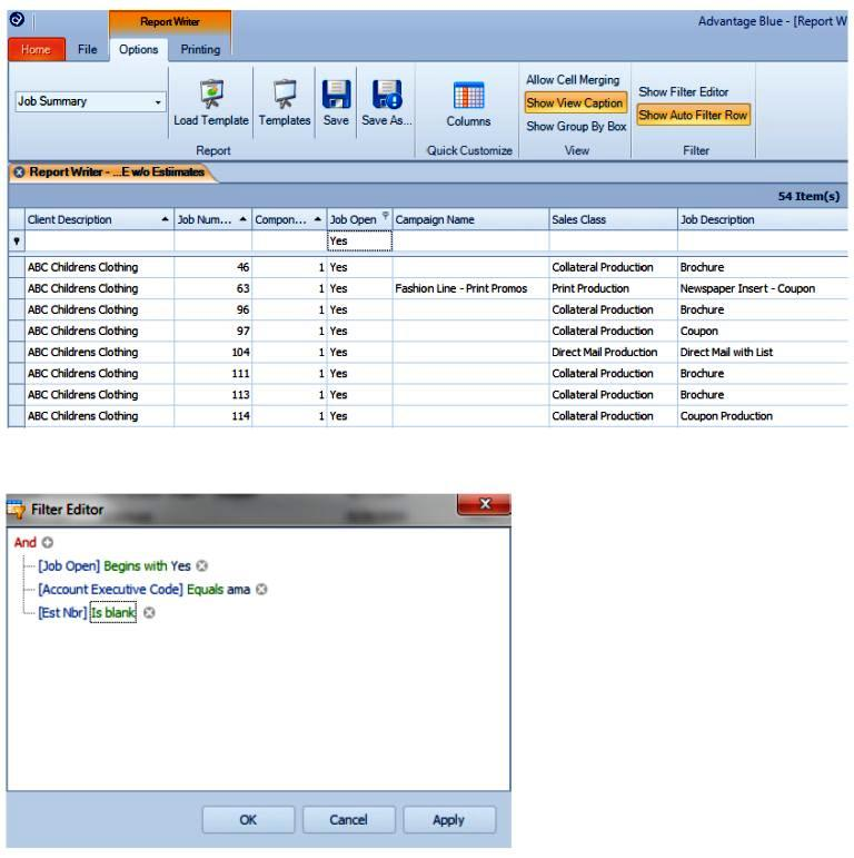 analytics and reporting tools