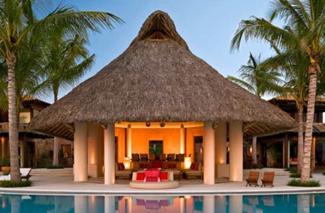 Tiki huts and palapas for sale at for Garden huts for sale