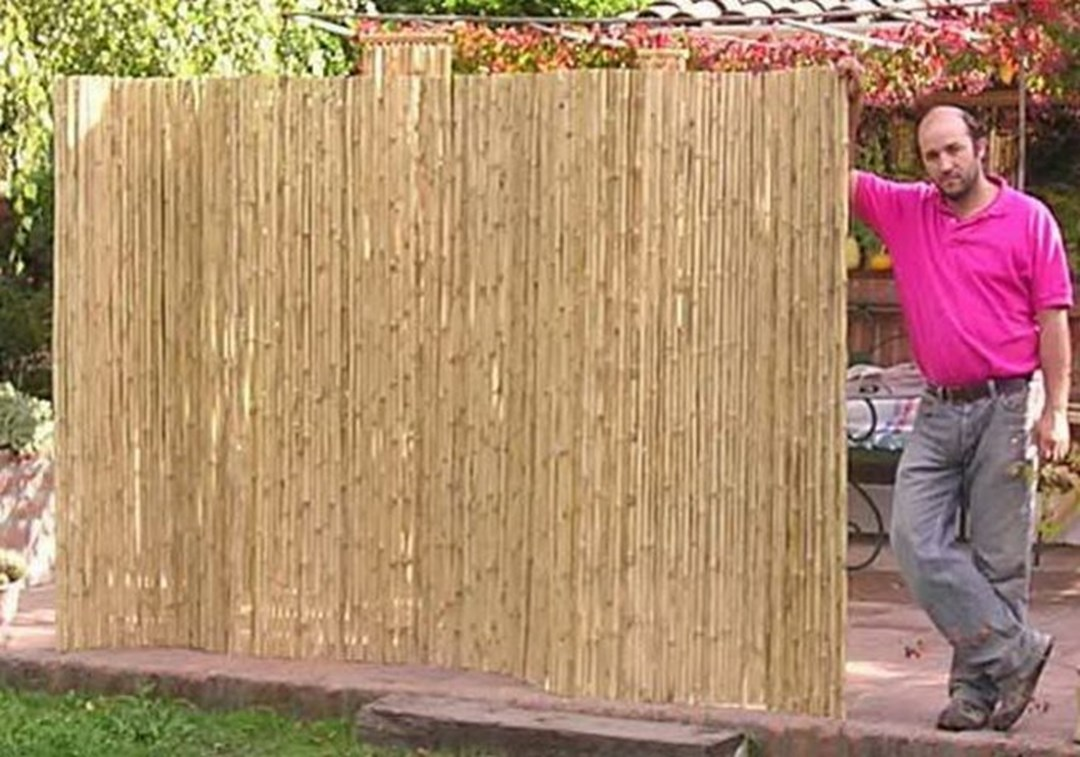 Bamboo fence design ideas and discounts on fencing at for 8 foot high outdoor privacy screen
