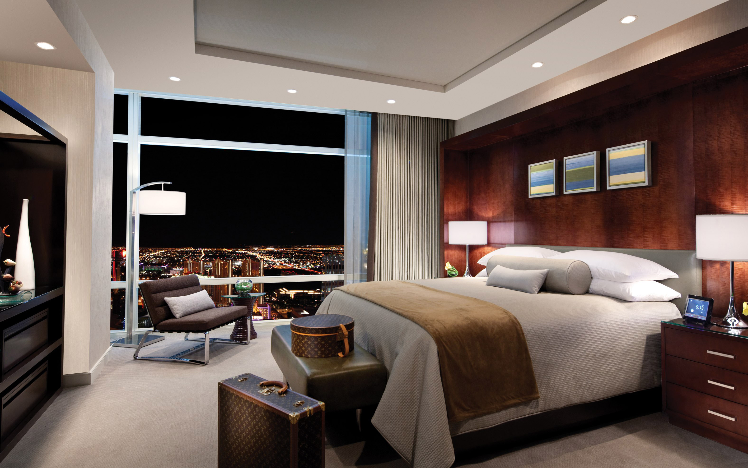 Sky suites at aria resort casino earns coveted aaa five - Two bedroom penthouses las vegas ...