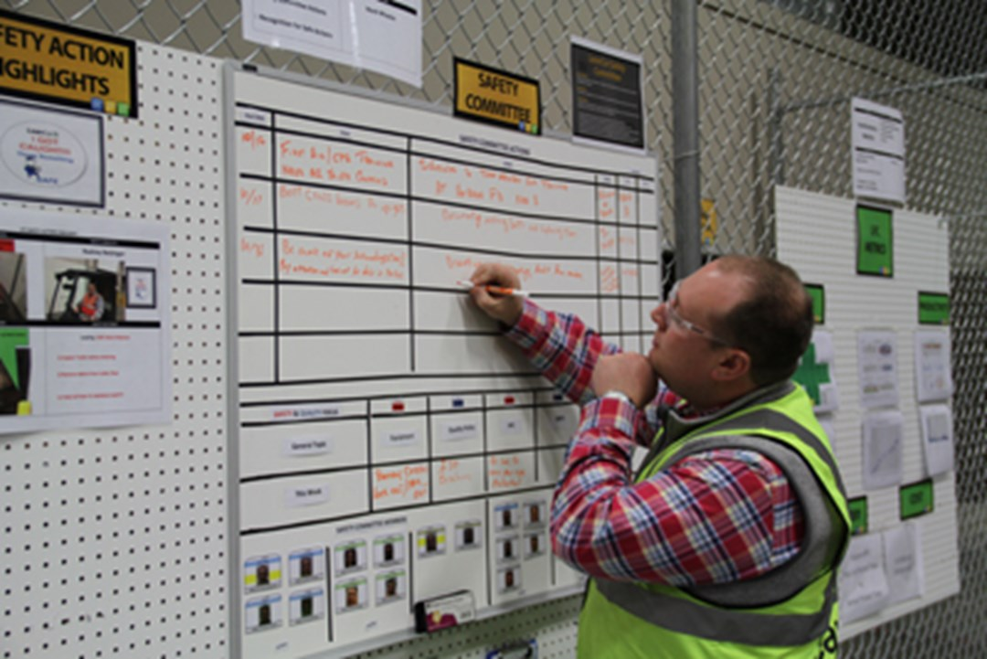 Gemba Walk Boards : Lean supply chain logistics distribution and