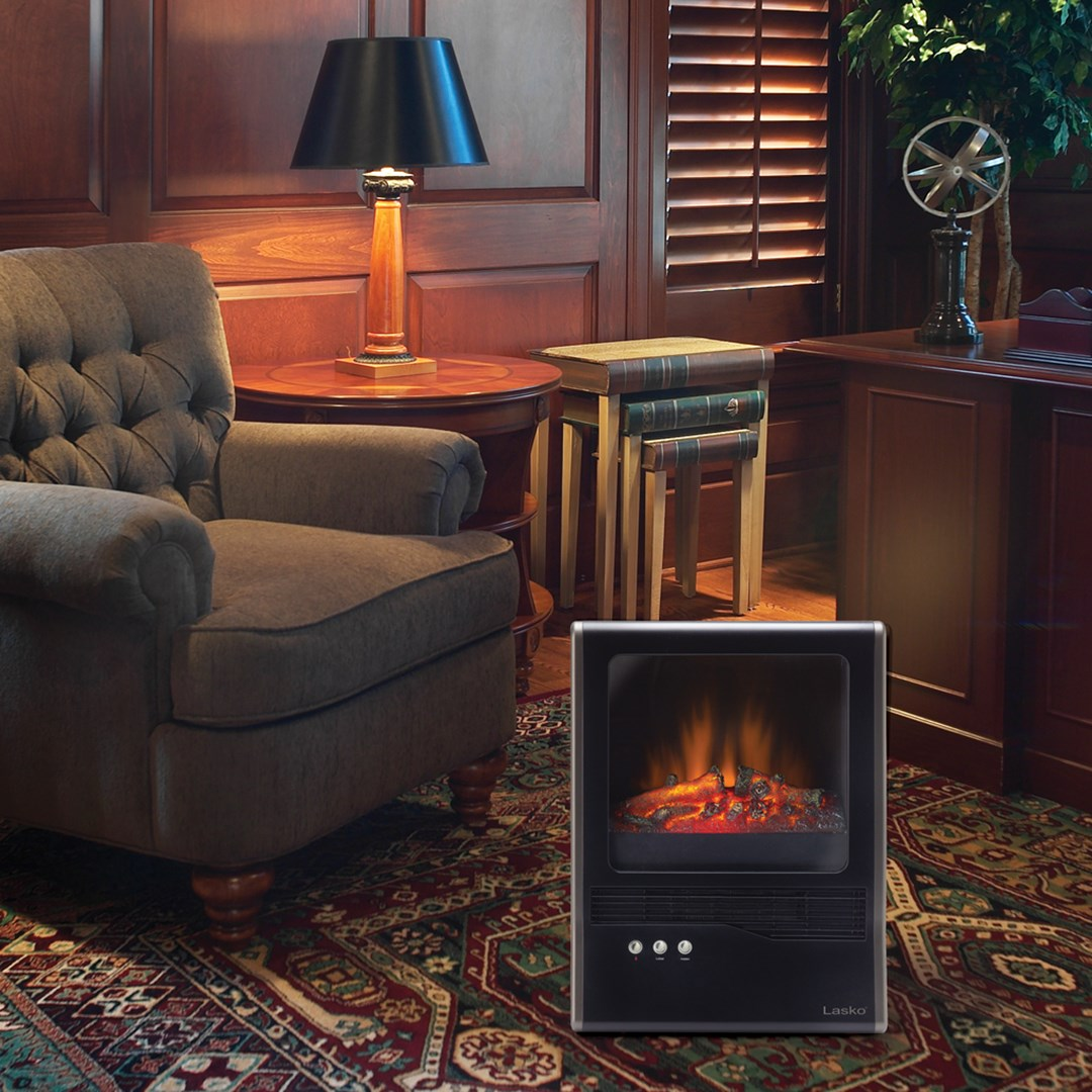 year round ambience plus winter warmth with lasko ceramic
