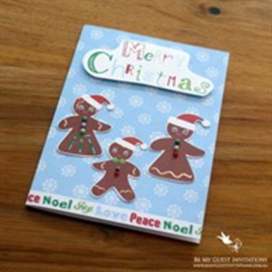 Lifestyle media bloggers unique handmade christmas for Cool xmas cards