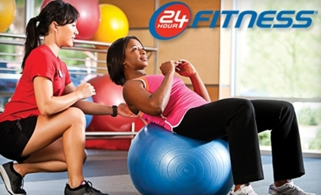 24 Hour Fitness offers $0 initiation fee + first month free on their monthly payment memberships. Offer valid 3/24 - 3/26 only.