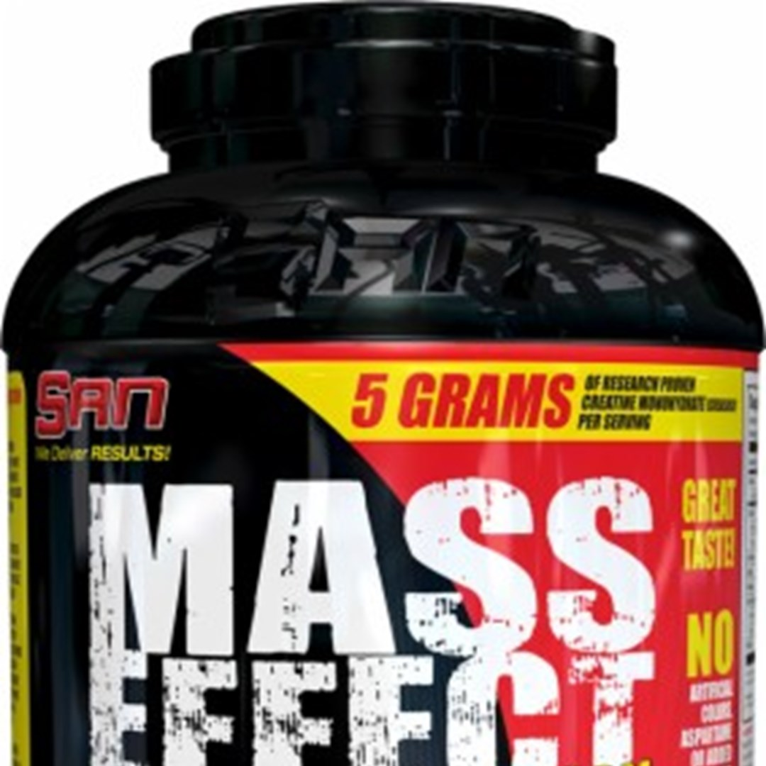 SAN Mass Effect – Muscle Mass Building Supplement