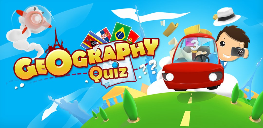 Geography Quiz 3D - New Mobile Geo Adventure by Webelinx ...