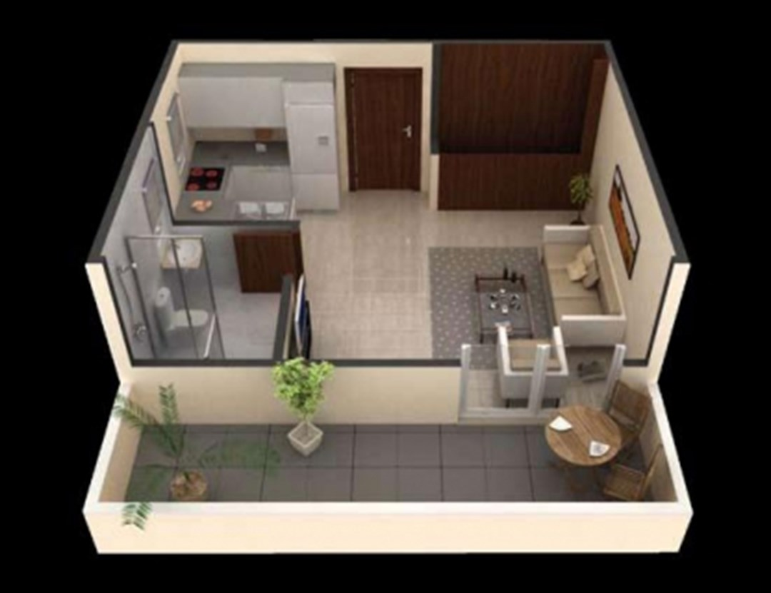 Buy a studio in Massa inexpensively
