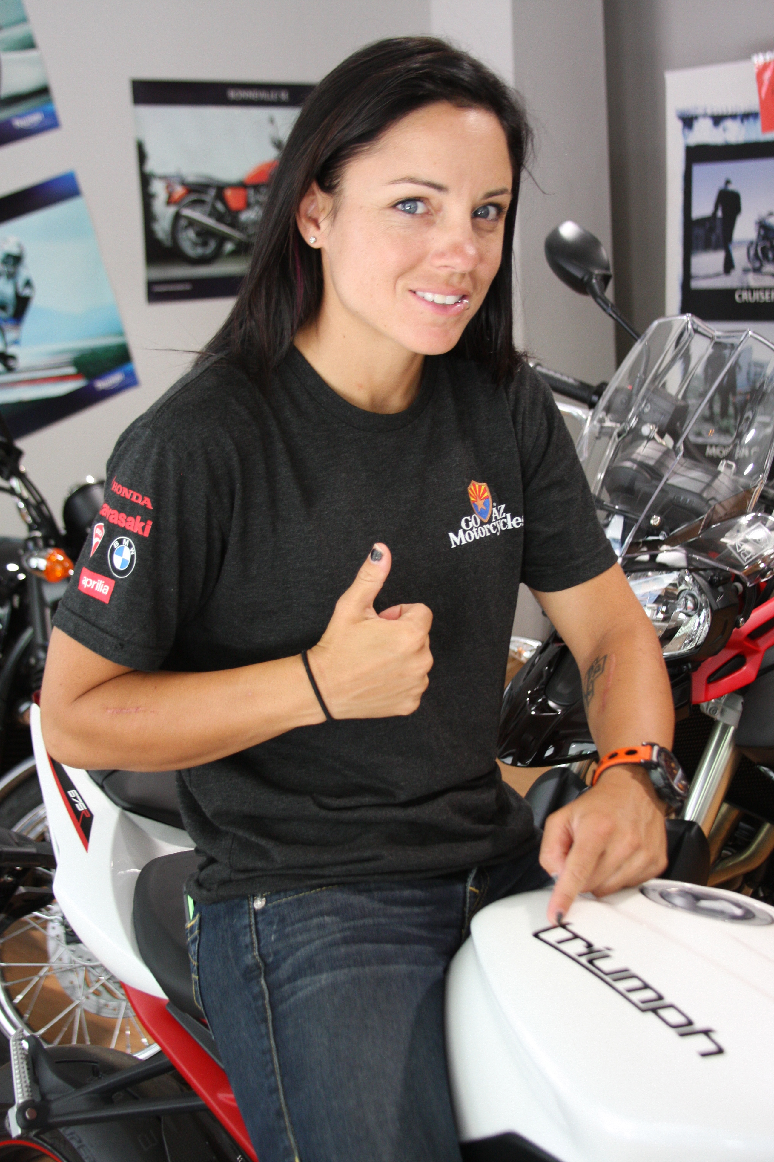 Mazda Raceway Laguna Seca >> MELISSA PARIS RETURNS TO RACE IN THE UNITED STATES WITH TRIUMPH MOTORCYCLES AT MAZDA RACEWAY ...