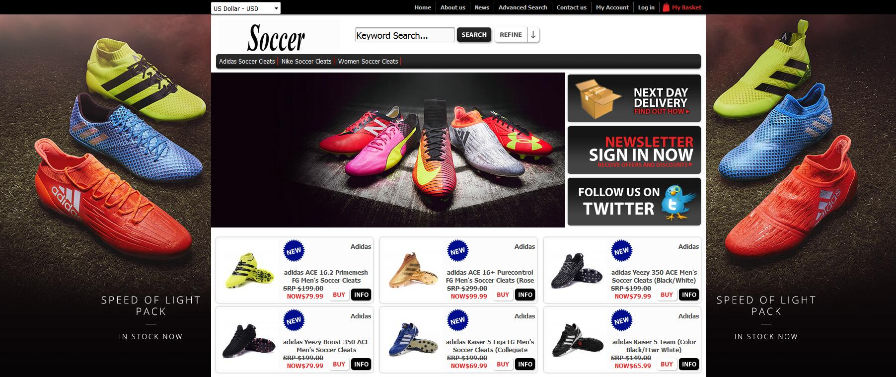 12af34f92 Cheap Premium Soccer Cleats Available at football boots usa Online Store