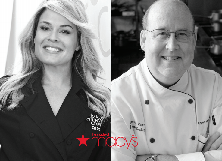 Macy S Culinary Council Chef Cat Cora And Guest Chef Dean