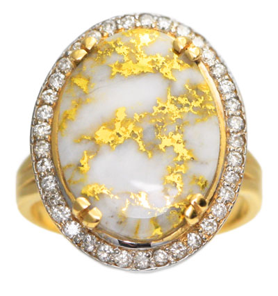 what is gold quartz and how is it formed alaska jewelry
